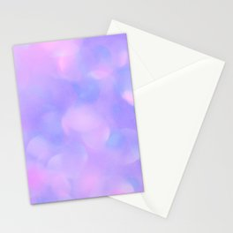 Abstract lavender pink violet watercolor modern bokeh Stationery Cards