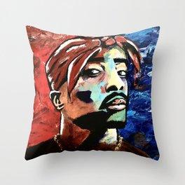 Abstract Street Art Throw Pillow