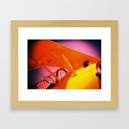 Pinks and Yellows Framed Art Print