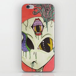 Ectoplasm ET iPhone Skin