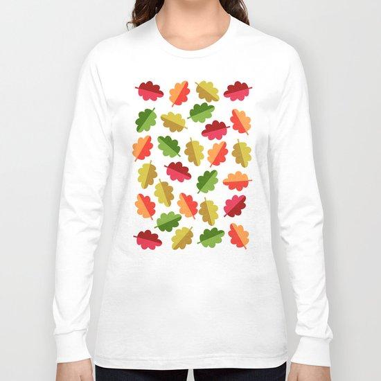 Autumn Leaves Long Sleeve T-shirt