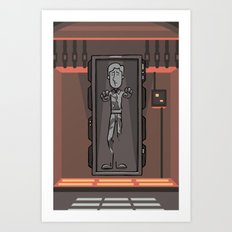 EP6 : Han Solo in Carbonite Art Print
