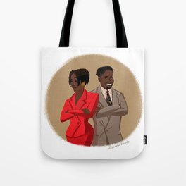 Maxine Shaw and Kyle Barker / Living Single Tote Bag