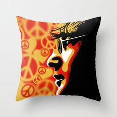 John Lennnon Imagine  Throw Pillow