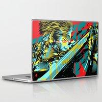 metal gear Laptop & iPad Skins featuring Metal Gear Rising by HyperTwenty
