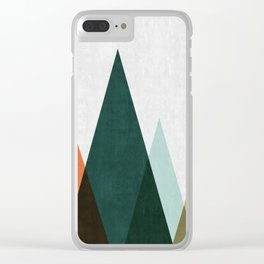 Minimalist Landscape XII Clear iPhone Case