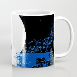 Gazing  the  Moon  at  the  Celestial  Seashore Coffee Mug