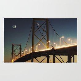 New Moon Bridge Rug