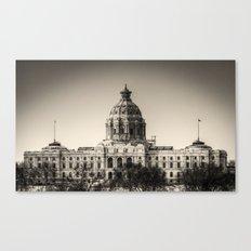 Minnesota Capitol Building Canvas Print
