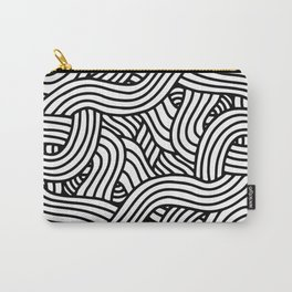 Overlapping Tangles Carry-All Pouch