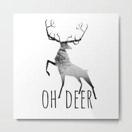 oh deer /Agat/ Metal Print