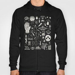 Curiosities: Bone Black Hoody