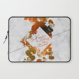 My Heart is a Ticking Time Bomb Laptop Sleeve