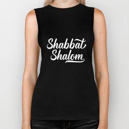 Shabbat Shalom - Sabbath Jewish Resting Day Torah Biker Tank
