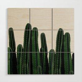 Cactus I Wood Wall Art