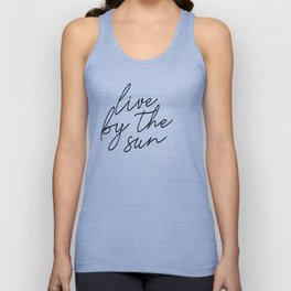 live by the sun love by the moon (1 of 2) Unisex Tank Top