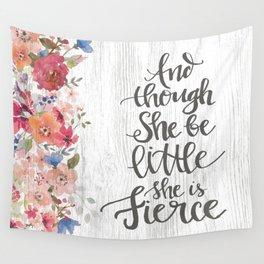 She Is Fierce Wall Tapestry