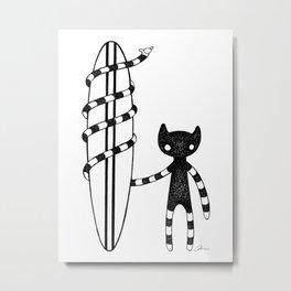 Hangloose Metal Print