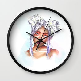 'Persephone' (Goddess Spring) Wall Clock