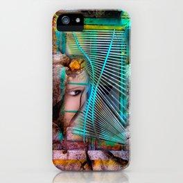 Emotional prison - conceptual composing iPhone Case