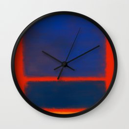 Rothko Inspired #7 Wall Clock