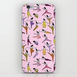 Pompadour iPhone Skin