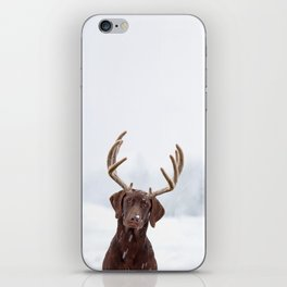 White wonder iPhone Skin