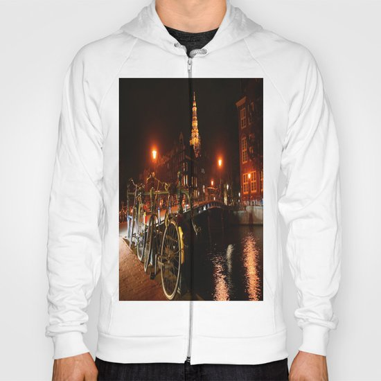 Amsterdam At Night Hoody