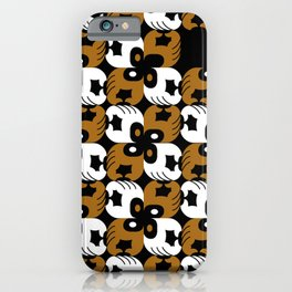 Brown supports Black Lives Matter iPhone Case