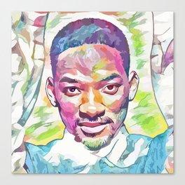 Will Smith (Creative Illustration Art) Canvas Print