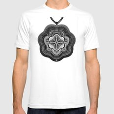 Spirobling XXI Mens Fitted Tee White MEDIUM
