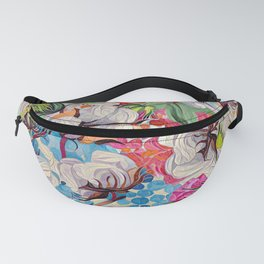 Cotton and more floral Fanny Pack