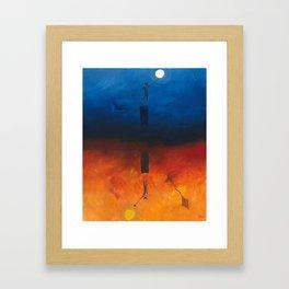 Hidden Craze Framed Art Print