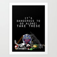 gamer Art Prints featuring Gamer  by Ioana Muresan