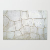 cracked Canvas Prints featuring Cracked  by Ethna Gillespie