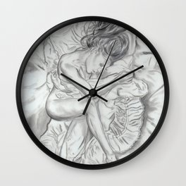 Waiting On You Wall Clock