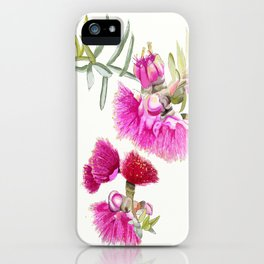 Australian Pink Gumnut Gum Flower  iPhone Case