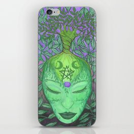 Earth Goddess Tree of Life iPhone Skin
