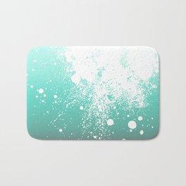 Splattered Ombre Bath Mat