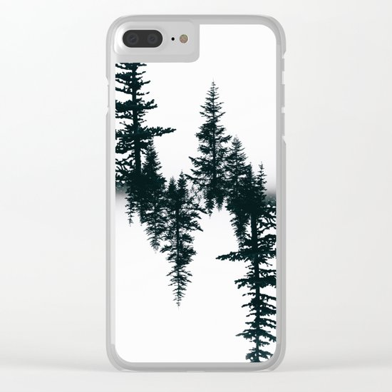 Serenity IV Clear iPhone Case