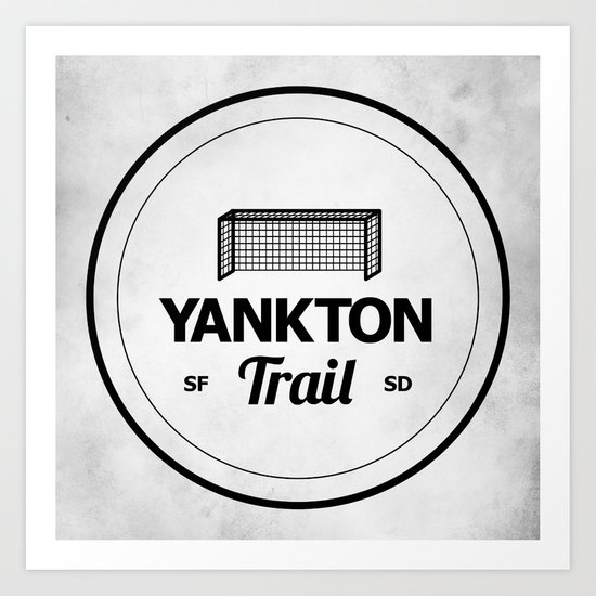 Yankton Trail Art Print