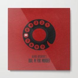 Dial M For Murder 01 Metal Print