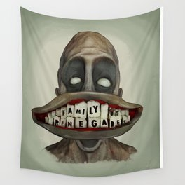 Family Of Renegades (Halloween Version) Wall Tapestry