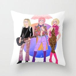 Velvet Goldmine Throw Pillow