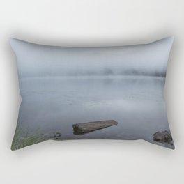 In A Fog Rectangular Pillow