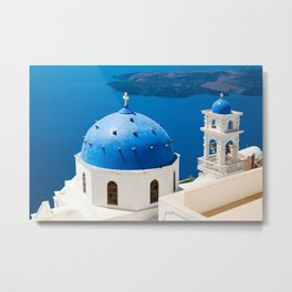 Beautiful Greece Metal Print
