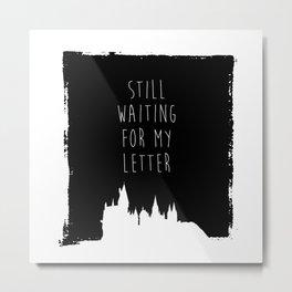 Hogwarts Letter Metal Print
