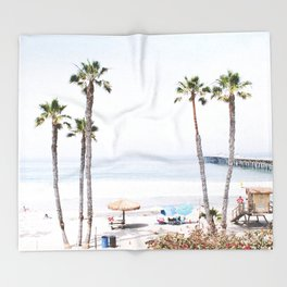 Palm Beach Throw Blanket