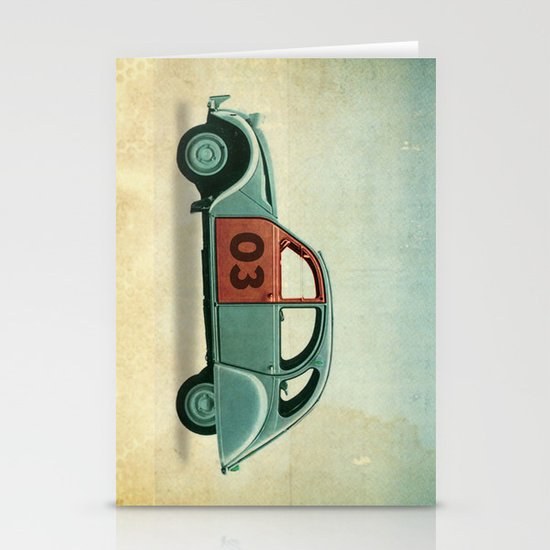 Number 03 _ Citron 2CV Stationery Cards