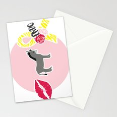 Kiss My Ass Endometriosis - Commissioned Work Stationery Cards